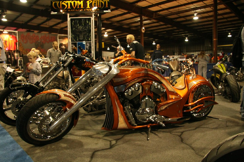 Best looking chopper at the show
