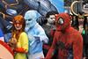 Comic Con_0459 (idiart) Tags: city nyc newyorkcity ny newyork manhattan spiderman iceman comicbooks comiccon marvelcomics firestar nycc spidermanandhisamazingfriends comiccon2009 nycc09 jabobjavitscenter