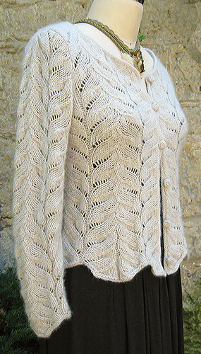 Ravelry: Angel Wing Sweater pattern by Carol Sunday