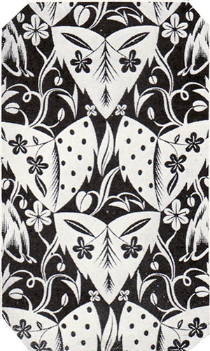 black and white wallpaper. 1924 Black amp; White Art Deco