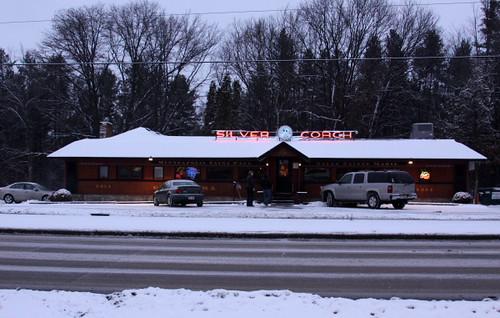 23) a local restaurant
