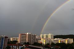 Rainbow at Bt Batok (25/02/2009) ([ Wesley Sng Photography ]) Tags: rainbow singapore bt batok canon1740mm canon50d
