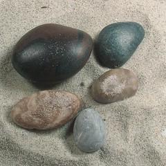 Faux stones...