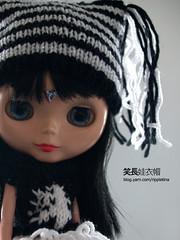 Blythe's fairy hat and xmas tree sweater