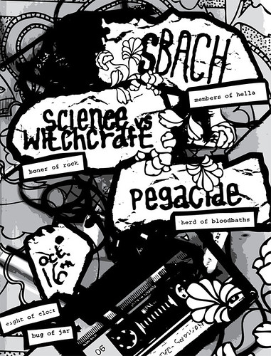 sBACH / Science vs. Witchcraft / Pegacide
