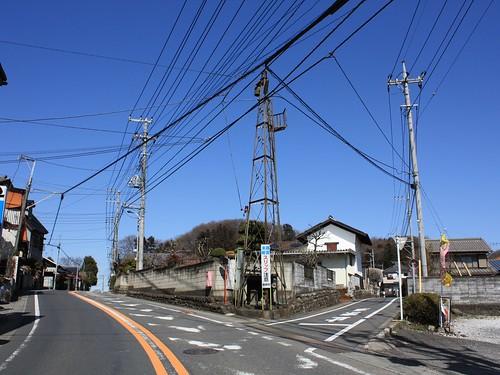 箱根ヶ崎の火の見櫓(半鐘台)