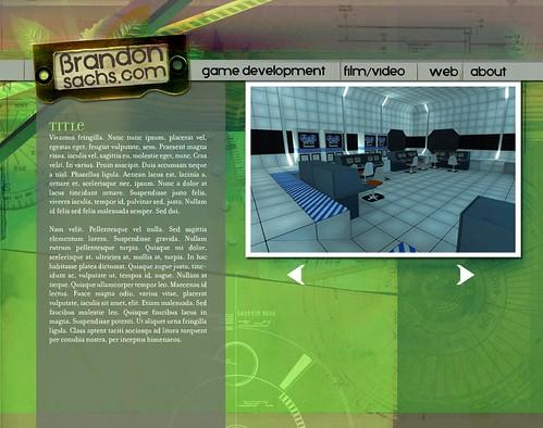 brandonsachs.com site