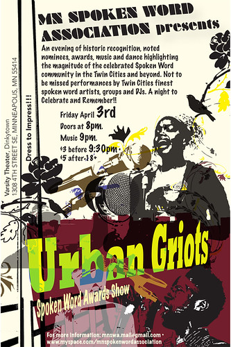 Urban Griots word awards
