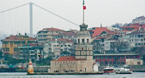 Üsküdar, Maidens Tower, İstanbul, Kız Kulesi, Pentax K10d