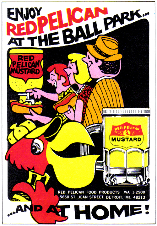 Vintage Ad #781: Enjoy Red Pelican at the Ball Park