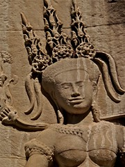 P1020848 (ilse ruppert) Tags: travel girls horses water children site asia cambodia southeastasia khmer statues waterlilies temples siem reap wat monuments archaeological civilisation naga ankorwat ilseruppert
