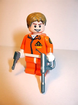 Colonel Dan Dare custom minifig