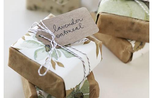 Handmade soap eco wedding favor originally uploaded by bella figura