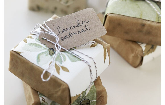 Handmade soap eco wedding favor Lovely handmade soaps from 100 Layer Cake
