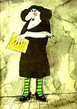Top 100 Picture Books #29: Miss Nelson is Missing! by Harry Allard, illustrated by James Marshall