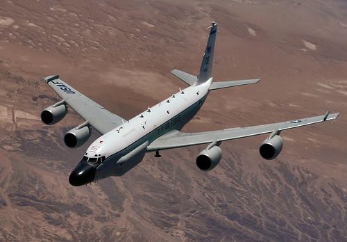 フリー画像| 航空機/飛行機| 軍用機| 偵察機| RC-135 リベットジョイント| RC-135 Rivet Joint|      フリー素材|