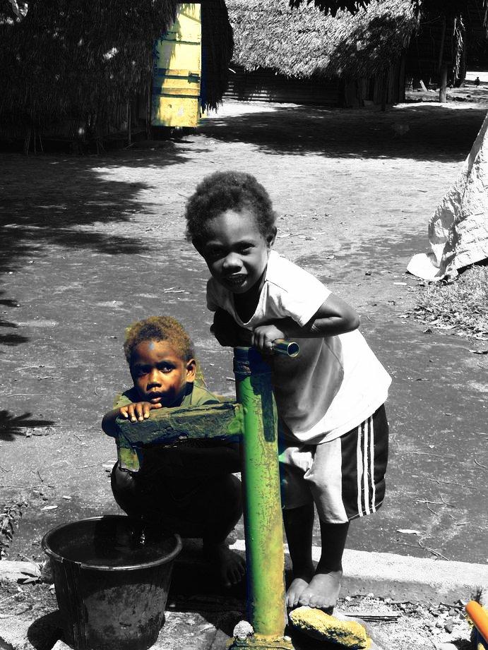 Vanuatu : Ile de Tanna #78: enfants
