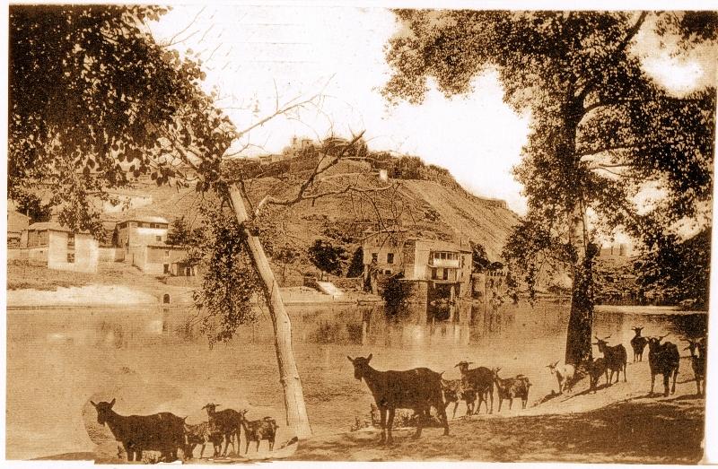 Casa del Diamantista (Toledo) a principios del siglo XX