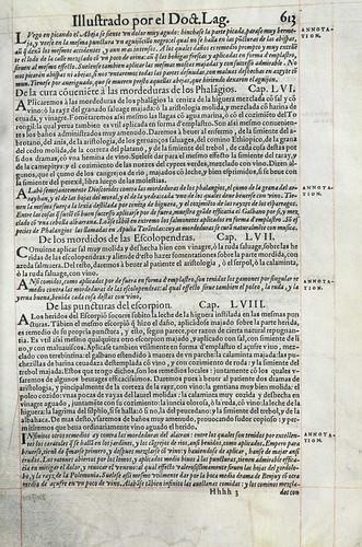 022- Ejemplo de tratamiento de algunos venenos3-Pedacio Dioscorides Anazarbeo 1555