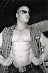 Phil (buffntuff28) Tags: pecs arms muscle muscular chest models hunk buff flex biceps hotmen shitless hotstuds musclemen