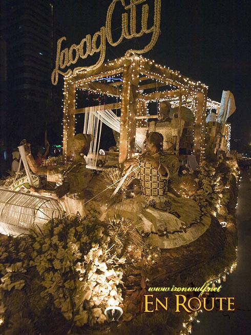 Aliwan Festival 2009 Laoag Float