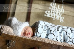 Shhh...baby sleeping (slcook52 (Sylvia)) Tags: baby naturallight explore newborn ryder suitcase client prop childphotography canon50mm18 mondayblues clientsession omot copyrightedallrightsreserved
