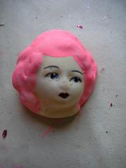 Marie Antoinette Dollie Head!