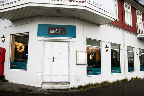 Icelandic Fish and Chips exterior