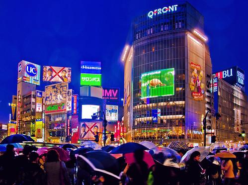 フリー画像| 人工風景| 建造物/建築物| 街の風景| 夜景| ビルディング| 日本風景| 東京| HDR画像|   フリー素材|