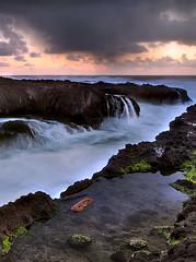 Sundown Over Cook's Chasm (Michael Bollino) Tags: ocean detail nature oregon outside coast nikon rocks waves sundown pacific northwest spray oregoncoast d300 naturesfinest blueribbonwinner cookschasm vosplusbellesphotos michaelbollino