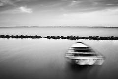 (nicola tramarin) Tags: sea bw italy blur boat barca italia mare delta adriatico mosso veneto rovigo deltadelpo blackwhitephotos saccadiscardovari scardovari polesine nicolatramarin