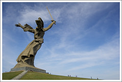 The Motherland Calls (Wowe101) Tags: russia mother battle calls stalingrad volgograd commemorate motherland mamayev kurgan