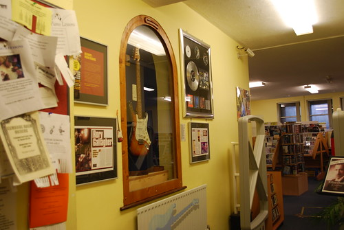 Rory Gallagher Music Library, Cork, Jan 2009
