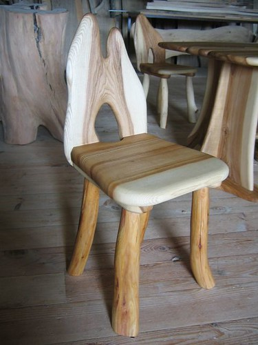 Antique Wood Chair Handicraft