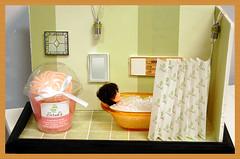 Cupcake Soap Diorama