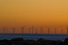 New Brighton Wind Farm (Johnssonphotography) Tags: sunset windfarm newbrighton