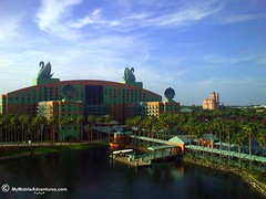 Glorious morning, Walt Disney World Dolphin