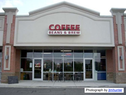 Coffee Beans & Brew Liberty Twp Ohio Location