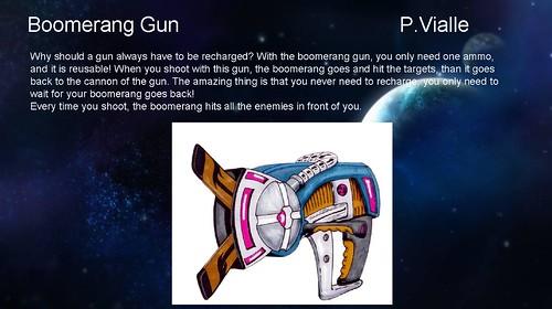 Ratchet & Clank Weapon Contest - Boomerang Gun