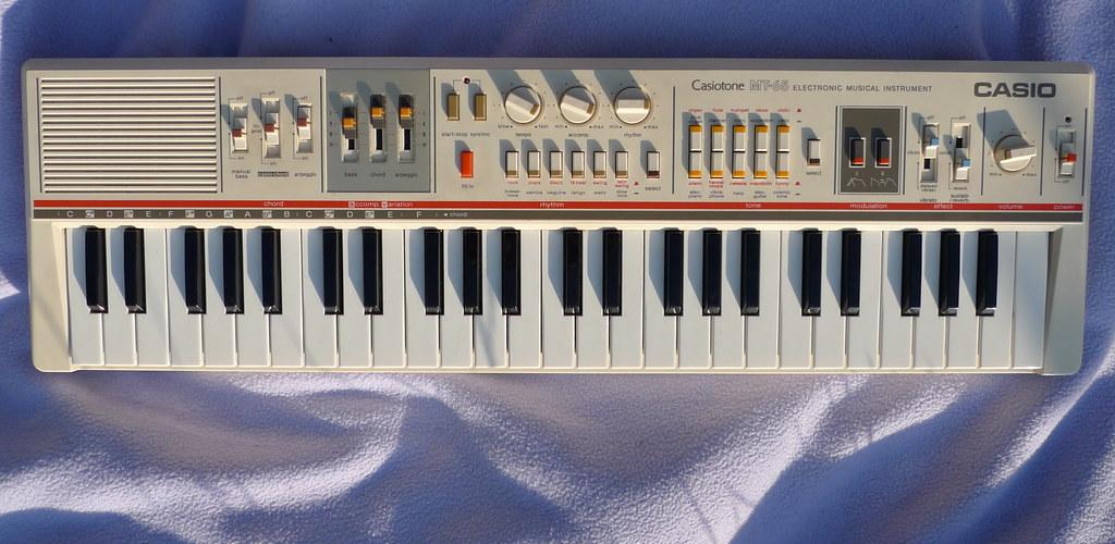 picture of casio MT-65
