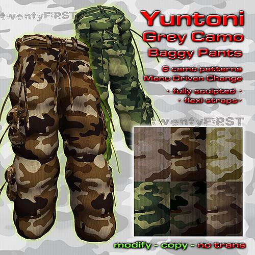 YUNTONI Pants