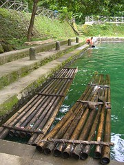At The Countryside: Fishing Raft (PeteƦ ToshiƦo™) Tags: lake water philippines spot tourist casio tropical bulusan tropics sorsogon petertoshiro