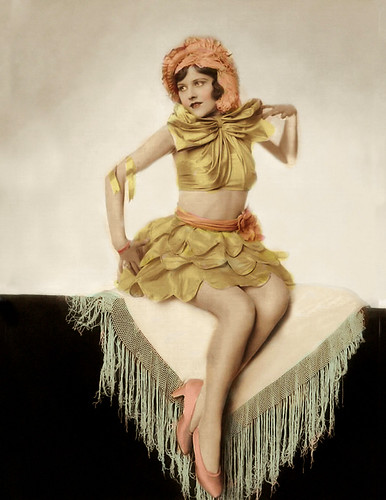 Ziegfeld: Naomi Johnson! Handcolored!