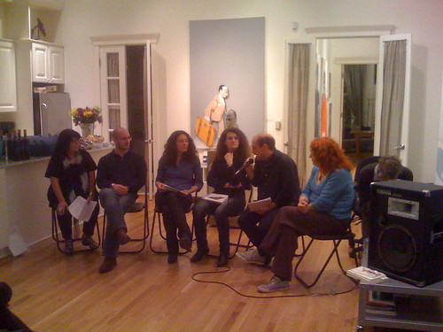 Italian poets reading, Think Art Gallery