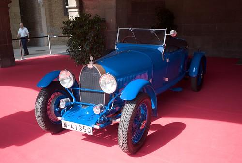 L1044214 Clasicos y Deportivos en el Poble Espanyol: Bugatti Type 44 Grand Sport 1929