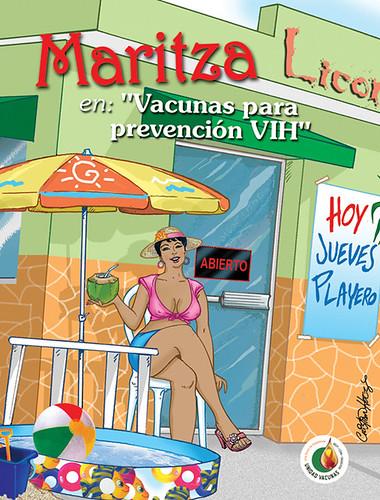 Comic Maritza
