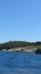 Speeding Away (hannahhunt1) Tags: blur beach speed boat greece corfu agni kassiopi blurryvision