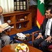President Nasheed Meeting with the delegation of Australian High Commission