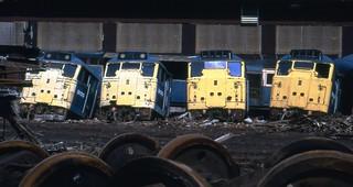 Class 31 31170 31124 MC Metals 10/8/92