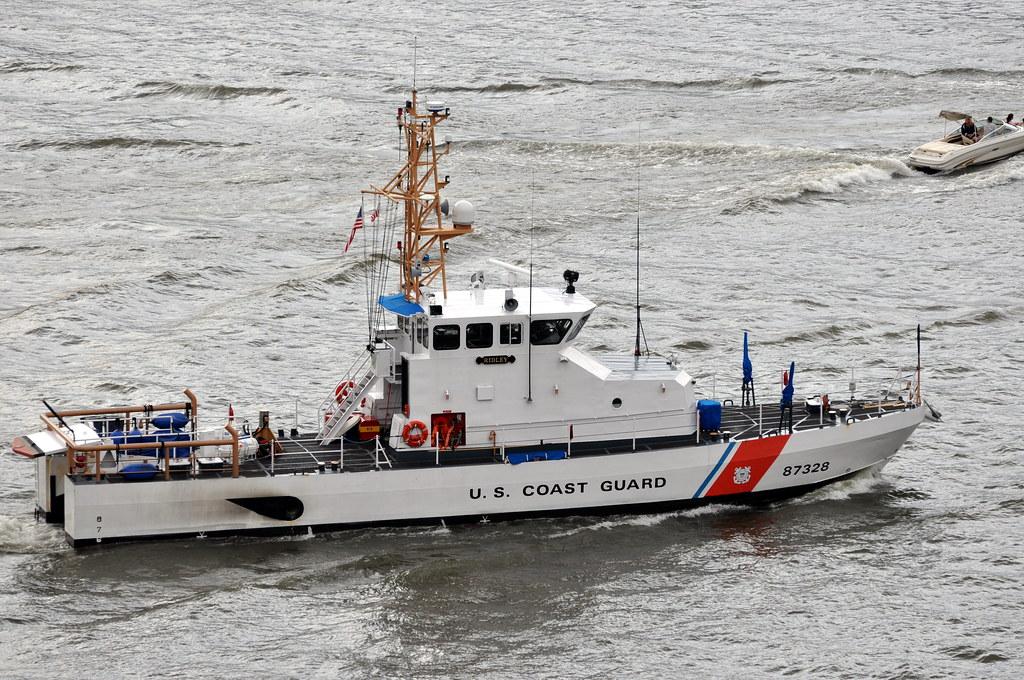 US Coast Guard Patrol Boat -